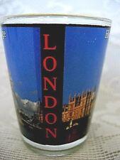 Collectible HOUSES OF PARLIAMENT & TOWER BRIDGE, LONDON, BIG BEN Shot Glass