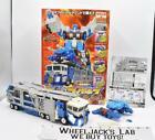 God Magnus C-023 Car Robots 100% Complete W/ Box 2000 Transformers Takara