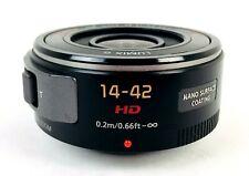 Lumix G X Vario 14-42mm PZ pancake lens, Panasonic H-PS14042, Power Zoom