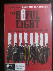 The Hateful Eight - H8ful ( Region 4 DVD ) FREE Next Day Post from NSW