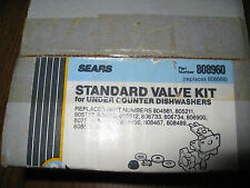 Sears Dishwasher Water Valve 808960 Brand New In Box