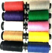 Juego De 10 x Bobinas Hilos Algodón Costura Colores Variados Nuevo Collecion GB