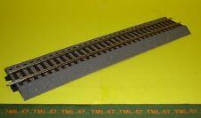 Voie ROCO LINE - Rail DROIT 230 mm av Ballast - ref 42510 - Code 83 (no Geoline)