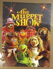 """Jim Henson 1976 The Muppet Show Poster 20x28"""" Kermit Fozzie Scooter Animal Gonzo"""
