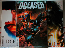 DCEASED (2019) #3 Mattina HORROR VARIANT SET A B C dc comics NM wonder woman