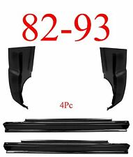 82 93 Chevy S10 4Pc Slip-On Rocker & Cab Corner, GMC, 1.2MM Thick, Complete Kit