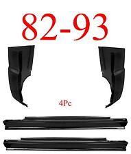 82 93 Chevy S10 4Pc Slip-On Rocker & Cab Corner, GMC, 1.2MM Thick, Complete Kit