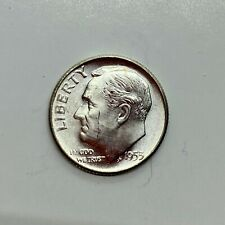 1953 (P) Roosevelt Dime, Uncirculated - 90% Silver .10 US Coin *1b38