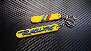 Peugeot 205 Rallye Key anello Yellow/Blue