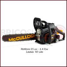 Motosega McCulloch 35 cc Lama 40 Motore a Scoppio Professionale Husqvarna Catena