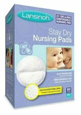 Lansinoh Disposable Nursing Pads 60 Ct Breastfeeding Breast Care Baby New