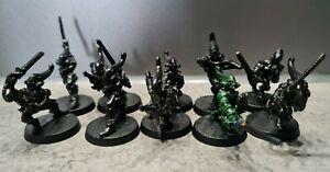 Warhammer 40K  Eldar Craftworlds 10 Skorpionkrieger Striking Scorpions