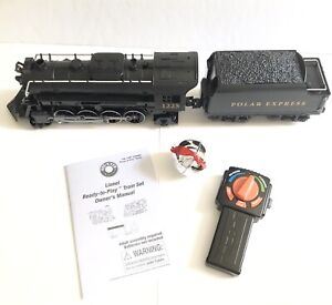 Polar Express Lionel Ready To Play Motorized Engine Tender Remote Bell 7-11824