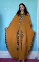 Arabian kaftan Dubai Abaya lace maxi Dress plus size Bohemian dress one size