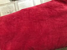 Fine Wale Corduroy Fabric Material Cotton 100%, by Yard Rust color 5 yards