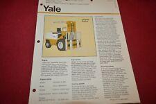 Yale GP-080L Forklift Dealer's Brochure AMIL15