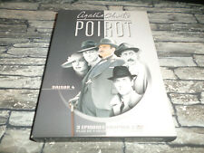 POIROT SAISON 4  -  3 EPISODES / COFFRET DIGIPACK 3 DVD /  SERIE TELE