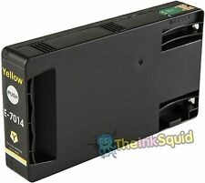 1 Yellow T7014 non-OEM Ink Cartridge For Epson Pro WP-4545DTWF WP-4595DNF