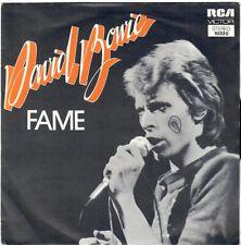 DAVID BOWIE Fame Right  1975 RCA Victor PB 10320 rare 45 pressage France
