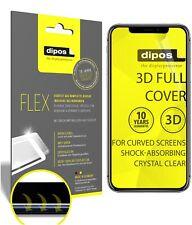 2x Schutzfolie für Apple iPhone 11 Pro Max inkl. Rundung 3D Full Cover Flex