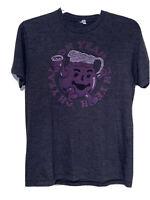 Kool Aid Man Oh Yeah Purple Adult Large Shirt