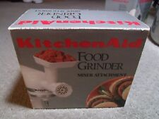 Kitchen Aid Mixer Attachment Food Grinder Model FGA New in Box Meat