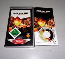 Fired Up (Sony PSP, 2009) juego Renn PlayStation Portable