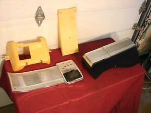 62 63 64 PONTIAC CATALINA BONNEVILLE GRAND PRIX 4 SPEED CONSOLE