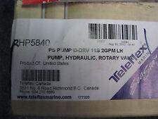 Teleflex HP5840 11 spline 2GPM LH Hydraulic Power Steering Pump