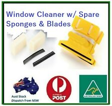 Magnetic Window Cleaner Single Glazed Glass Up To 10mm Glass Wiper Aus Made
