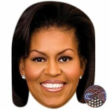 Michelle Obama Big Head. Larger than life mask.