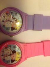 Little Princess Reloj Rosa/Púrpura Pequeño niños TV regalo de Navidad poste libre