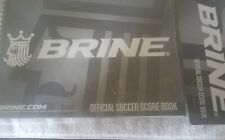 Brine Official Soccer Score Book