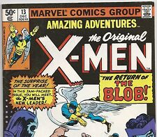 The X-MEN #7 Reprinted in AMAZING ADVENTURES #13 the BLOB from Dec. 1980 in Fine