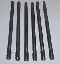 Lot de 6 tarauds longs M18 x 2,5 - Lg 250 mm - composé des n° 1 / 2 / 3 / 4