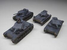 15mm llamas de la guerra Alemán Panzer III-Pintado (4)