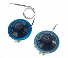2PCS 220V 16A Water Thermostat Temperature Switch Controller 30-110 Celsius