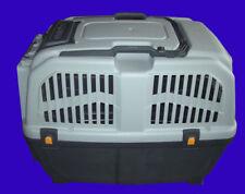 Trasportino in plastica SKUDO 4 per cani di taglia media