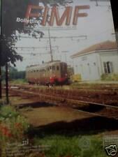 Bollettino FIMF treni 1998 221 Storia industria ferrovi