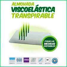 HOGAR24 Almohada Viscoelástica Solida - Blanca