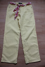 BODEN  yellow cropped  jeans size 10L  NEW