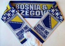 Bosnia & Herzegovina Football Scarves NEW from Superior Acrylic Yarns