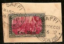 German Offices Abroad,  Morocco 1900 Scott no. 19
