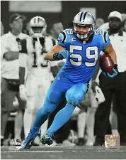 Luke Kuechly 2015 Spotlight Action Carolina Panthers 8x10 Photo