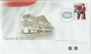 Canada 2014 FDC 2787b Doug Harvey