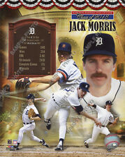 Jack Morris Detroit Tigers 2018 MLB Hall of Fame Official Photofile 8x10 Photo