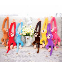 60cm Long Arm Hanging Monkey Plush Baby Toys Stuffed Animals Soft Doll Kids Gift