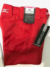 Medium Red Mizuno Girl Youth  Softball Pants
