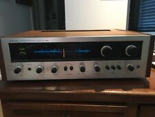 Pioneer SX-990 AM/FM Stereo Receiver Solid Wood Powers On
