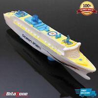 Bump & Go Kids Toy Ship Flashing Light & Sound effect Magical Gift Ocean Liner